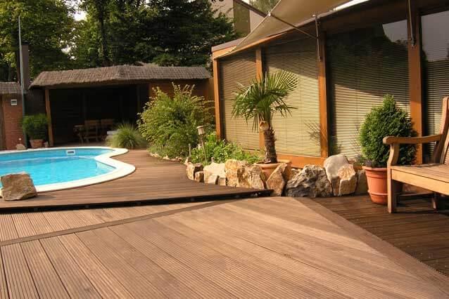 Holzbau - traumhafte Terrasse in Dinslaken