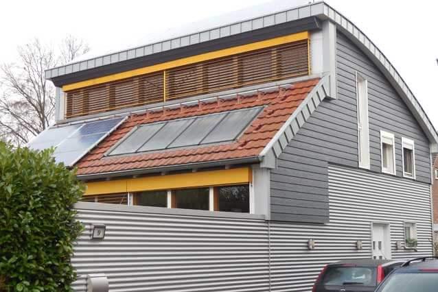 Holzbau - energieeffizienter Fassadenbau