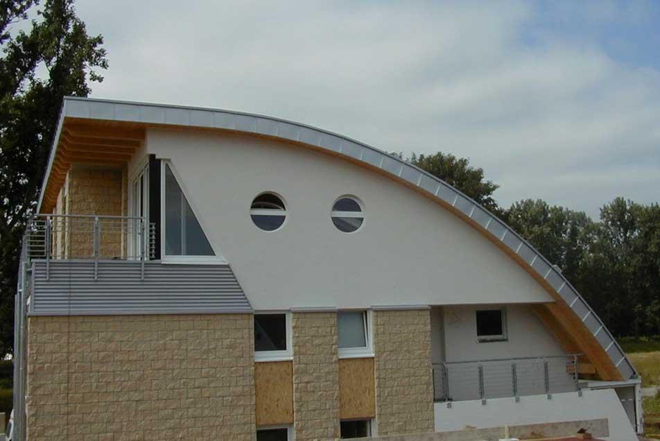 Exklusive und moderne Dachgaube