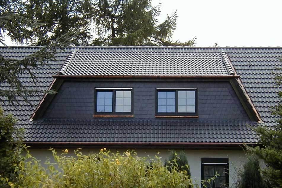 Nachträgliche Dachgaube im Einfamilienhaus